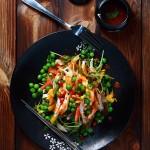 泰式蔬菜鸡肉沙拉