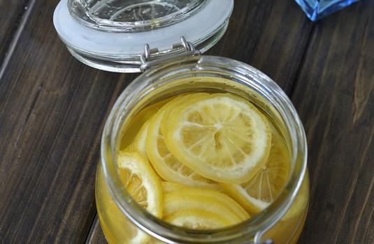 蜜渍柠檬(美白蜜糖水)
