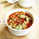 农家豆角菜疙瘩和豆角蒸菜