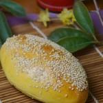胡萝卜芝麻面包(早餐菜谱)