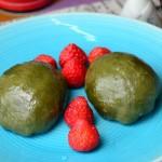 豆沙青团(清明节传统美食)