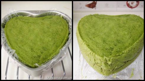 抹茶肉松咸蛋糕