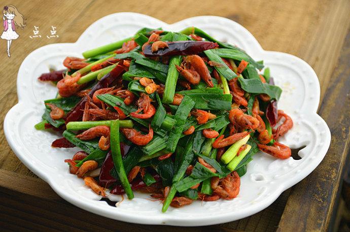 韭菜炒河虾&香酥河虾