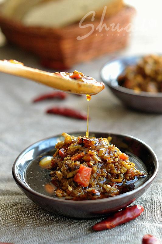陕西酱辣子的做法【图解】_陕西酱辣子的家常做法_酱