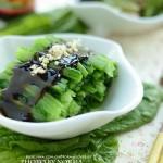 蚝油莴笋叶