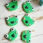 糖霜青蛙饼干(甜品点心)