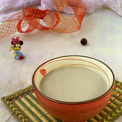 莲子小米豆浆