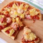 菠蘿鮮蝦披薩(水果菠蘿披薩)