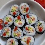 韩式紫菜包饭(春日踏青必备佳肴)