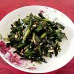 腌韭菜(面条搭档)