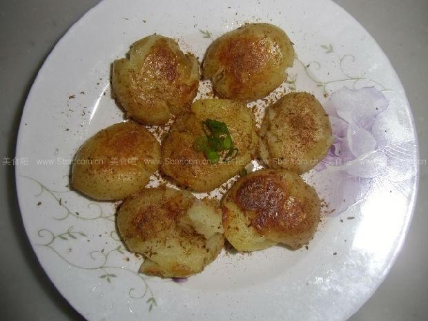 香煎孜然小土豆
