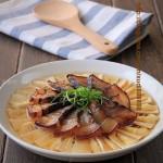 酱油肉百叶蒸春笋(自制酱油肉)