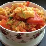 西红柿炒鸡蛋(最简单的家常菜)