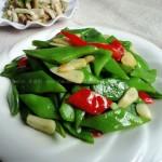 红椒炒芸豆