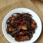 蕨菜烧肉(蕨菜最正确的食用方法)