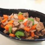黑胡椒牛肉粒