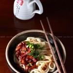 小卤肉饸饹面(山西经典面食)