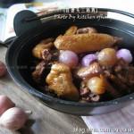 红葱头三杯鸡(台湾经典名菜)