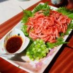 樱虾刺身(宴客凉菜)