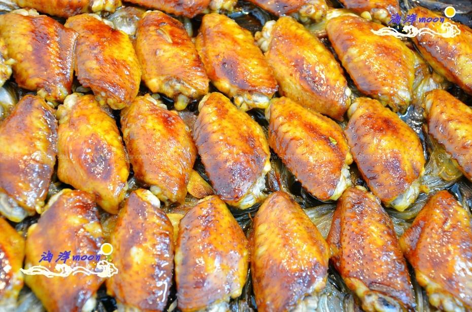 葱香烤鸡翅