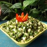 香椿拌豆腐(春季不可不吃的美味)