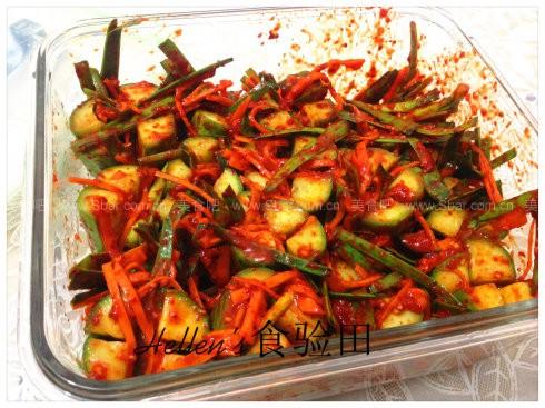 韩国小黄瓜泡菜