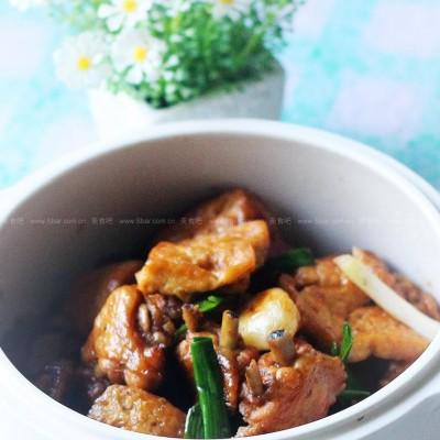 鸡翅烧豆腐