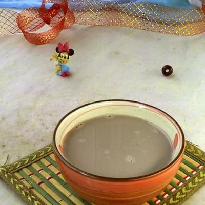 桑椹莲子豆浆