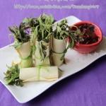 豆皮香椿卷(春季时令美味)