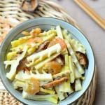 虾干焖春笋(春意盎然的当季菜)