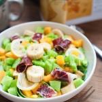 火腿水果沙拉