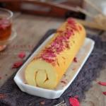 玫瑰花蛋糕卷(甜品点心)