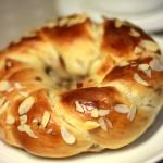 杏仁提子花环面包(早餐菜谱)
