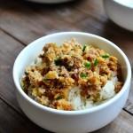 梅菜肉饼(广东菜)