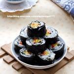 紫菜卷饭(踏青时自带便当)