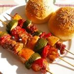 果蔬烤肉串(烤箱菜)