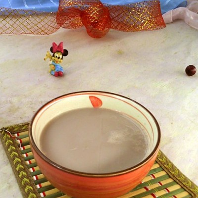 红豆莲子豆浆