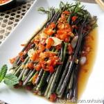 剁椒蒸蕨菜(清蒸菜)