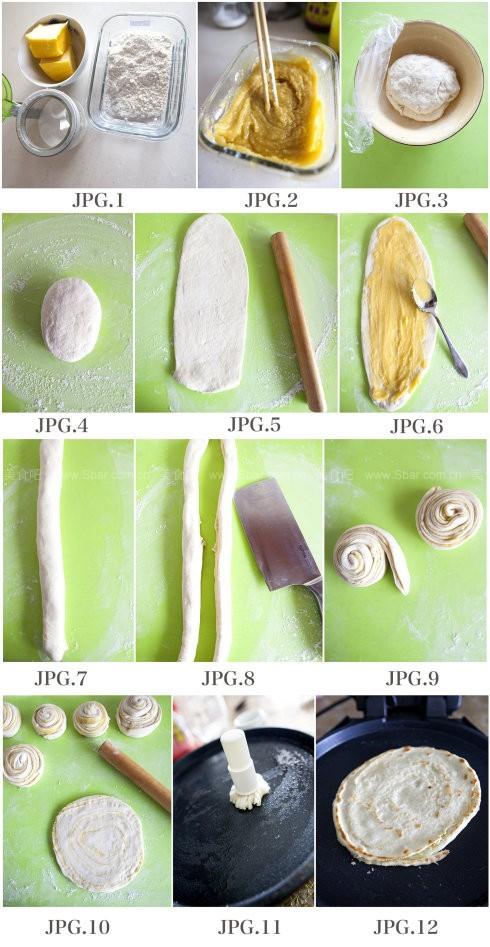 电饼铛香酥千层饼