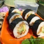 肉松寿司(踏青必备小点心)