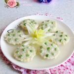 莲蓬豆腐(清蒸菜)