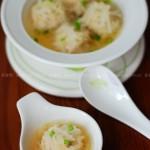 萝卜猪肉丸(清蒸菜)