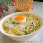 高汤鸡蛋挂面(早餐菜谱)