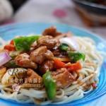 新疆拉条子拌面(早餐菜谱)