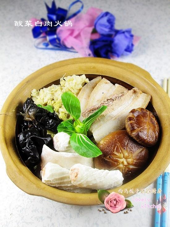 酸菜白肉火锅