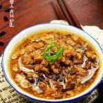 香菇鹵肉燥(肉燥拌地瓜葉)