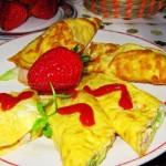 鸡蛋卷饼(五分钟搞定孩子的美味早餐)