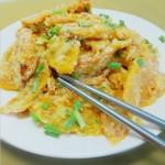 咸蛋黄南瓜(餐厅中最常点的家常菜)