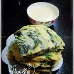 紫菜鸡蛋饼(早餐菜谱)