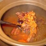 虫草花红豆排骨汤